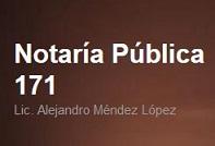 Notaría Pública 171, Lic. Alejandro Méndez López